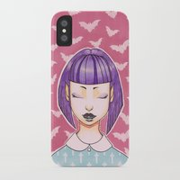 goth iPhone & iPod Cases featuring Pastel Goth by IMEON2