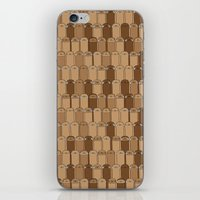 sloths iPhone & iPod Skins featuring Bunch of Sloths by Bakus