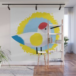 Grahic Color Bird Wall Mural