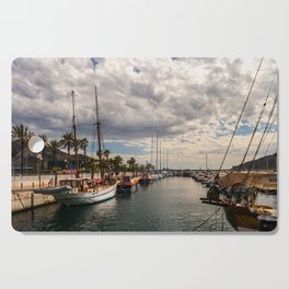 Harbour at Cartagena 2 Cutting Board
