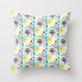 Magic Villa Throw Pillow