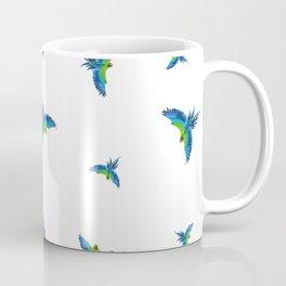 Blue parrots Coffee Mug