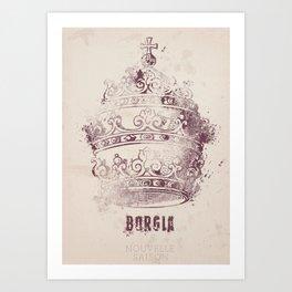 Borgia, tv series, alternative movie Poster, John Doman, Mark Ryder, Isolda Dychauk, Marta Gaslini Art Print