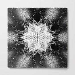 openwork 7 Metal Print