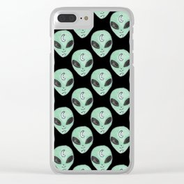 ALIENS Clear iPhone Case