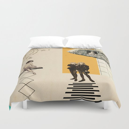 Two Princes Duvet Cover