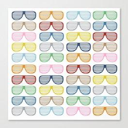 Rainbow Shades Canvas Print