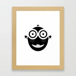 Happy Little Chappy Framed Art Print
