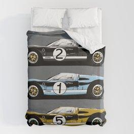 Three racing cars Duvet Cover