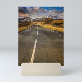 Snowdon Horseshoe Sunset Mini Art Print