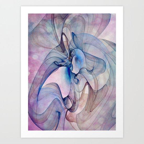 Dancing Veil Art Print