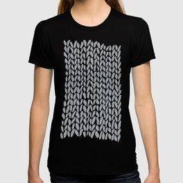 Hand Knit Zoom Grey T-shirt