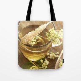 Elder Tea Still life for kitchen Tote Bag