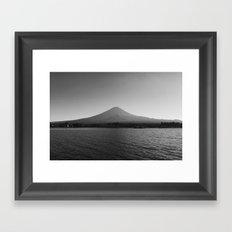 Mount Fuji Framed Art Print