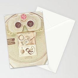 Beach Binoculars Stationery Cards