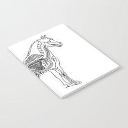 Horse (Inside) Notebook