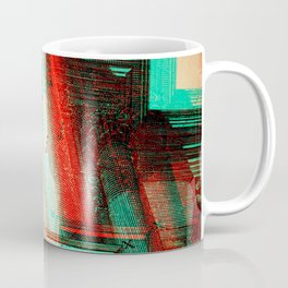 Architectural Antique Engraving Glitch Version 2 Coffee Mug