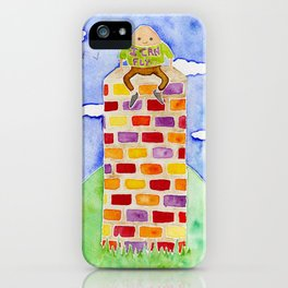 Humpty Dumpty - Before The Fall iPhone Case