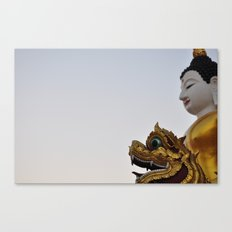 Buddha and Dragon  (Travel & Thailand) Canvas Print