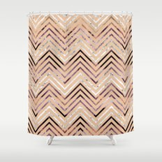 over and over Shower Curtain