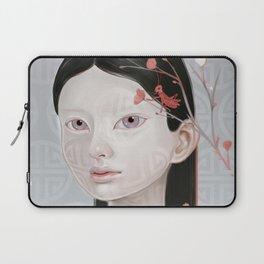 Japanese Black Blossom Laptop Sleeve