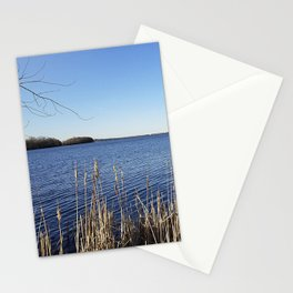 """Incredi-blue"" lake view - Lake Mendota, Madison, WI Stationery Cards"