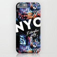 NEW-YORK (LIBERTEE CITY) iPhone 6s Slim Case