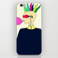 punk iPhone & iPod Skins featuring punk by Sproot