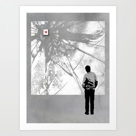 404 Art Print