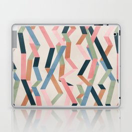 Straight Geometry Ribbons 1 Laptop & iPad Skin