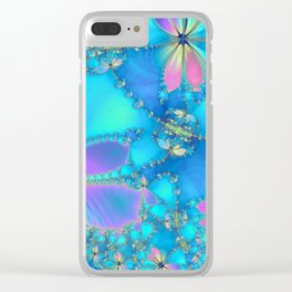 The Fluttering Clear iPhone Case