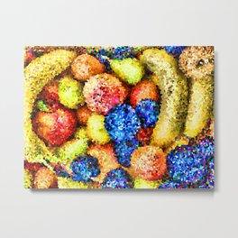 crystallized fruits Metal Print