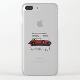 London 1938 Clear iPhone Case
