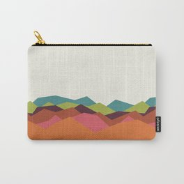 Chevron Mountain Carry-All Pouch