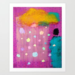 Cotton Candy Conundrum Art Print