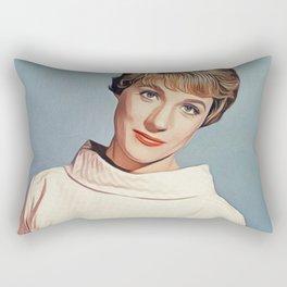 Julie Andrews, Movie Legend Rectangular Pillow