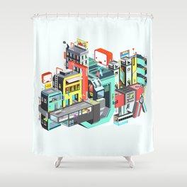 Next Stop Shower Curtain