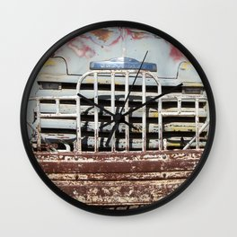 Chevy Truck Grill, Truck, Chevrolet, Old Chevy Wall Clock