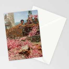 The Roses Of Heliogabalus By Sir Lawrence Alma Stationery Cards