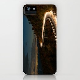 Linn Cove Viaduct iPhone Case