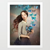 christian Art Prints featuring Set Your Heart Free by Christian Schloe