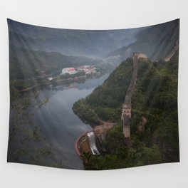The Great Wall of China Wall Tapestry