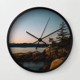 The Pacific Northwest Wall Clock