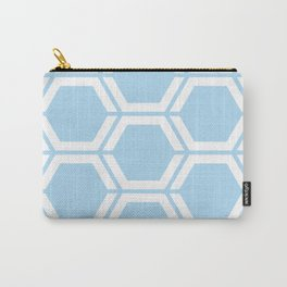 Uranian blue - heavenly - Geometric Polygon Pattern Carry-All Pouch