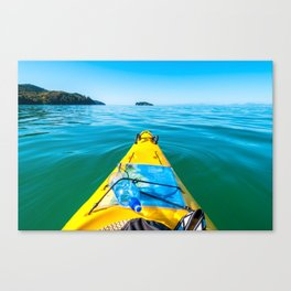 Abel Tasman Kayaking, New Zealand Canvas Print