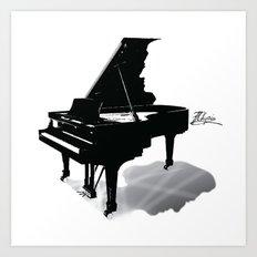 Pianist, Frédéric Chopin Art Print