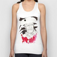 picasso Tank Tops featuring Picasso by Mitja Bokun