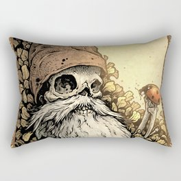 Gnome Bones Rectangular Pillow