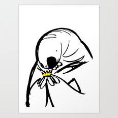 Sloth Monster Art Print