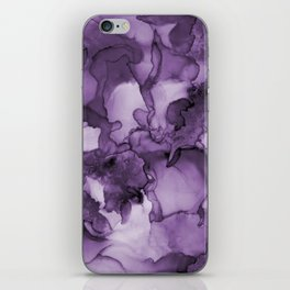 Color me purple- Abstract Painting iPhone Skin